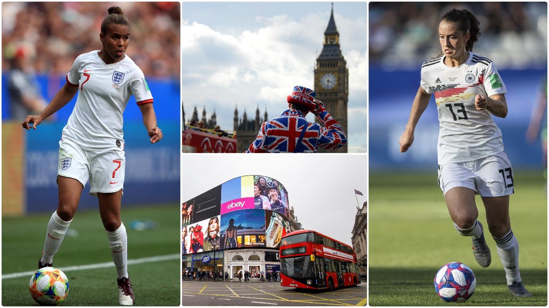 Reiseangebot Zum Frauen Landerspiel Gegen England In London