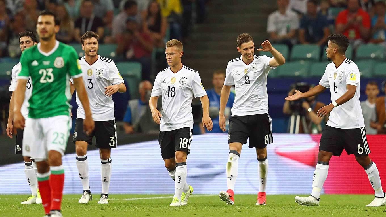 Schiedsrichter Deutschland Gegen Mexiko