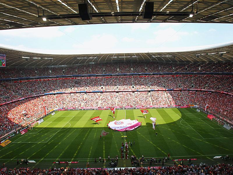 Blöcke Allianz Arena